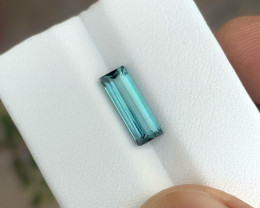 1.80 Ct Natural Blueish Transparent Tourmaline Gemstone