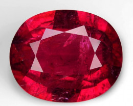 10.53 Cts UNHEATED PINK COLOR NATURAL RUBELLITE LOOSE GEMSTONE
