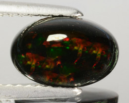 1 59 Cts Smoked Ethiopian Multi-Color Play Opal Oval