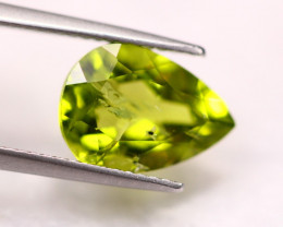 4.01Ct Green Peridot Pear Cut Lot LZ2882