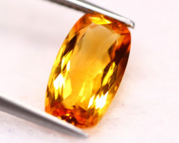 3.34Ct Natural Yellow Citrine Octagon Cut Lot LZ6345