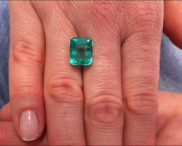 6,03ct Colombian Emerald Ref 13/76