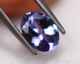 1.11Ct Violet Blue Tanzanite Oval Cut Lot LZ2894
