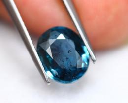 2.88Ct Greenish Blue Kyanite Oval Cut Lot LZ2896