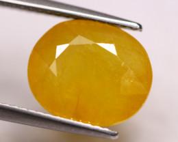 8.49Ct Yellow Sapphire Oval Cut Lot LZB651