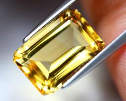 6.35Ct Yellow Citrine Octagon Cut Lot LZ2907
