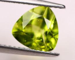 2.13Ct Green Peridot Trillion Cut Lot LZ2908