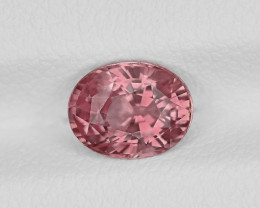 Padparadscha Sapphire, 1.35ct - Mined in Madagascar | Certified by GIA
