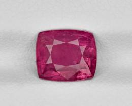 Ruby, 2.17ct - Mined in Tajikistan | Certified by GRS