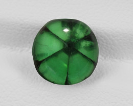 Trapiche Emerald, 3.57ct - Mined in Colombia | Certified by GIA
