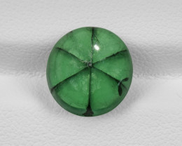 Trapiche Emerald, 4.20ct - Mined in Colombia | Certified by GIA