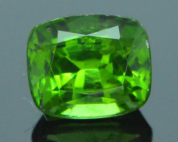 Rare 1.34 ct Green Zircon Great Luster Unheated Cambodia SKU.7