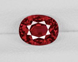 Ruby, 1.08ct - Mined in Burma | Certified by GRS