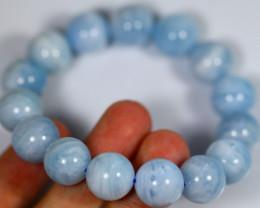 295.0Ct Natural Aquamarine Bracelet