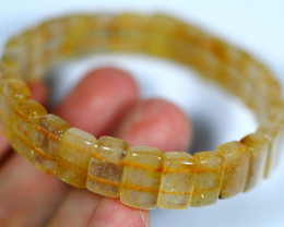 122.5Ct Natural Titanium Crystal Bracelet