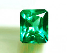 0.97 ct Absolute High-End Emerald Certified!