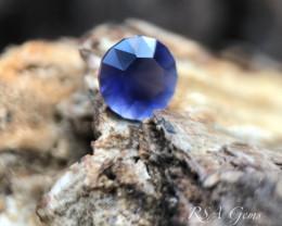 Round Iolite - 1.28 carats