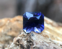 Square Iolite - 3.08 carats