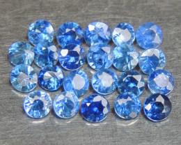2mm Round Sapphire Blue