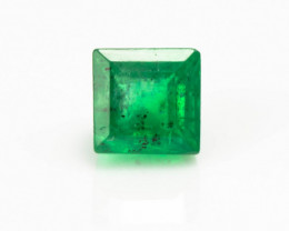 2.60 mm Emerald  0.12 ct Zambia