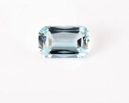 7 x 5 mm Aquamarine 0.75 ct Brazil