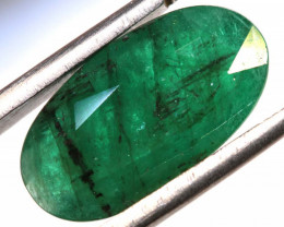5.40 CTS  ETHIOPIAN EMERALD POLISHED GEMSTONE TBM-1802