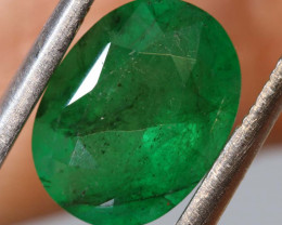 4.65 CTS  ETHIOPIAN EMERALD POLISHED GEMSTONE TBM-1811