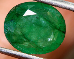 2.55 CTS  ETHIOPIAN EMERALD POLISHED GEMSTONE TBM-1814
