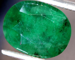 3.60 CTS  ETHIOPIAN EMERALD POLISHED GEMSTONE TBM-1815