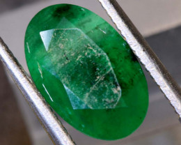 3.05 CTS  ETHIOPIAN EMERALD POLISHED GEMSTONE TBM-1817