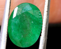 2.40 CTS  ETHIOPIAN EMERALD POLISHED GEMSTONE TBM-1819