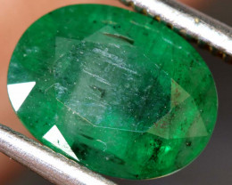 2.25 CTS  ETHIOPIAN EMERALD POLISHED GEMSTONE TBM-1820