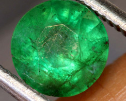 1.30 CTS  ETHIOPIAN EMERALD POLISHED GEMSTONE TBM-1828