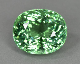 8.10 Cts Gorgeous Beautiful Color Natural Mint Tourmaline