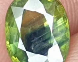 Natural BICOLOR Fancy Sapphire 1.70 ct