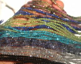 Iolite Labradorite Lapis Peridot Apatite Spinel Tourmaline Beads Necklace