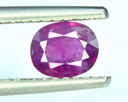 Rare 1.10 Ct Natural Corundum Purplish Pink Sapphire From Kashmir