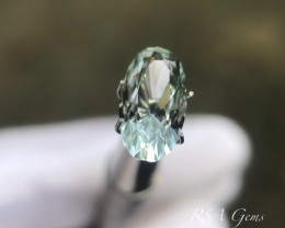 Brilliant Aquamarine Oval - 2.57 carats
