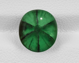 Trapiche Emerald, 3.45ct - Mined in Colombia | Certified by GIA