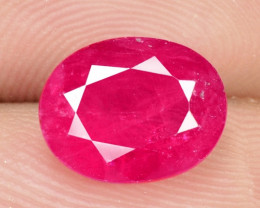 2.75 Cts NATURAL PINKISH RED RUBY LOOSE GEMSTONE
