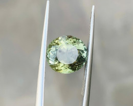 2.95 Ct Natural Greenish Transparent Tourmaline Gemstones
