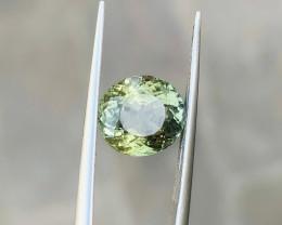 2.95 Ct Natural Greenish Transparent Tourmaline Gemstones