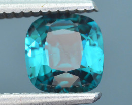 Teal Color 1.61 ct Afghan Indicolite Tourmaline Sku-36