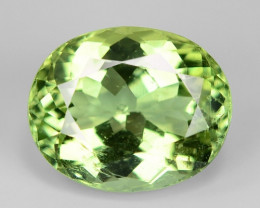 3.98 Cts Natural Green Color Tourmaline Gemstone