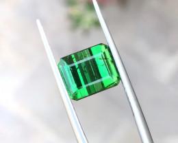 4.10 Ct Natural Greenish Transparent Tourmaline Gemstone