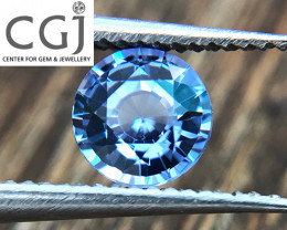 Certified - 0.47ct - Blue Sapphire