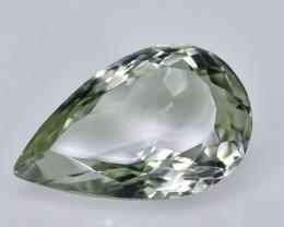 8.63 Crt Prasiolite Green Amethyst Faceted Gemstone (R15)