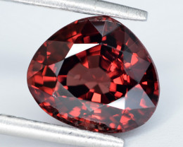 AIG CERT ~ 3.027 Ct Natural Red Spinel ( burma ) Gemstone