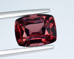 AIG CERT ~ 3.26 Ct Natural Red Spinel ( burma ) Gemstone
