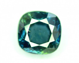 1.25 CT Bi-Color Flawless Parti Sapphire Gemstone Perfect Cut